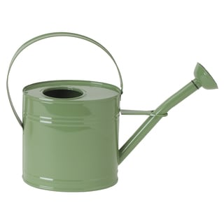 Hit Corp 8583E 11-inch x 15-inch Assorted Enamel Oval Watering Can