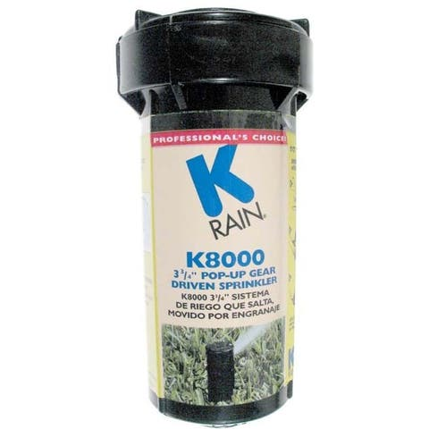 K Rain 81031 K8000 3-3/4-inch Pop-Up Gear Drive Sprinkler