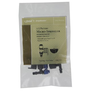 Orbit 67117 Drip Watering System 1/2 Pattern Micro Sprayer Sprinkler