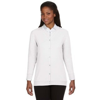 Perfect Fit Women's White Ribbon Cardigan (More options available)