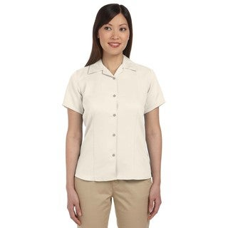 Bahama Women's Cord Camp Creme Shirt
