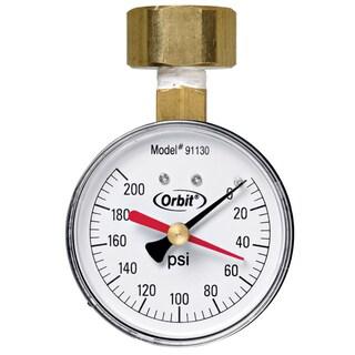Orbit 91130 200 PSI Water Pressure Gauge