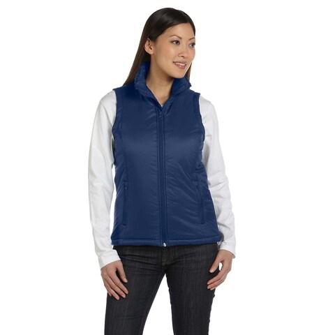 Essential Women's Navy Polyfill Vest