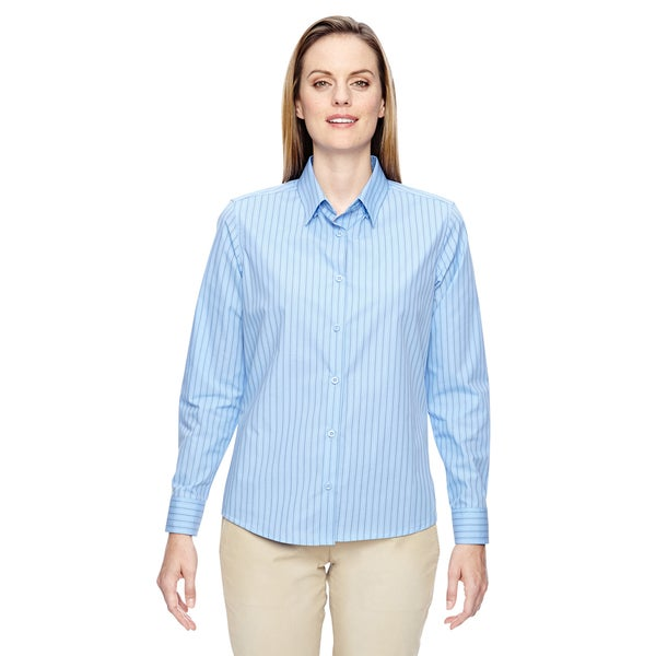 Lastest EXPRESS STRETCH LIGHT BLUE DRESS SHIRT WOMENS SIZE 10  EBay