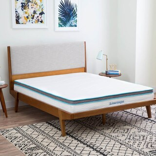 LINENSPA 8-inch Queen-size Memory Foam and Spring Mattress (Option: Queen)