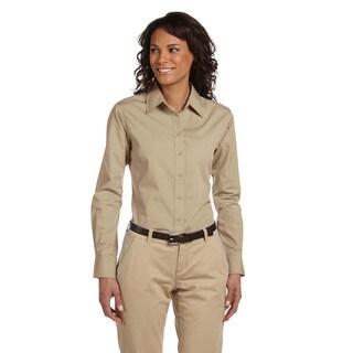 Women's Essential Poplin Dress Stone Shirt