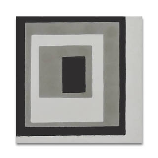 Rayan White and Grey Handmade Moroccan 8 x 8 inch Cement and Granite Floor or Wall Tile (Case of 12)