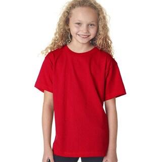 Boys' Red Short-sleeve T-shirt