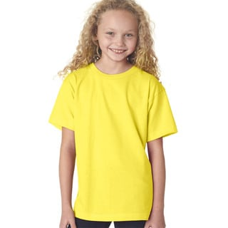 Boys' Yellow Short-sleeve T-shirt