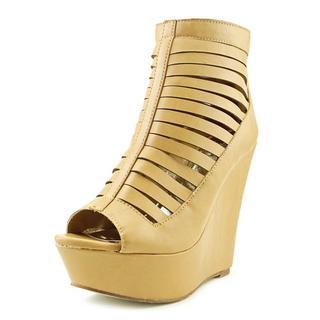 Cape Robbin Women's 'Laura-NY-10' Leather Dress Shoes
