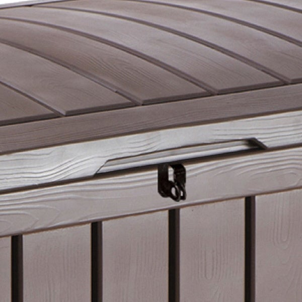 Brown Plastic Outdoor Patio Deck Storage Box - Free Shipping Today - Overstock.com - 19140504 & Keter Glenwood 101 gal. Brown Plastic Outdoor Patio Deck Storage ... Aboutintivar.Com