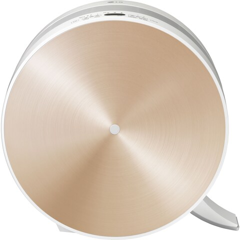 LG PuriCare Brushed Gold 3-Stage Filter Air Purifier with Smart Air Quality Sensor and LoDecibel Operation