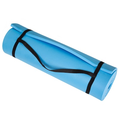 """Wakeman Fitness Extra Thick Foam Exercise Mat - 72"""" x 24"""" x 0.50"""""""