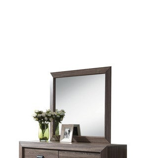 Lyndon Weathered Grey Wall Mirror