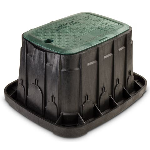Rain Bird VBREC12 12-inch Green Rectangle Valve Box With Lid