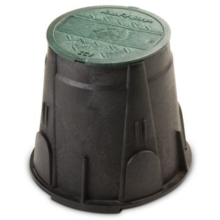 Rain Bird VBRND7 7-inch Green Round Valve Box With Lid
