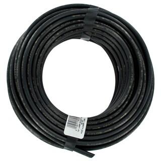 Rain Drip 018005P 1/4-inch X 50-feet Black Laser Drilled Soaker Hose Tubing