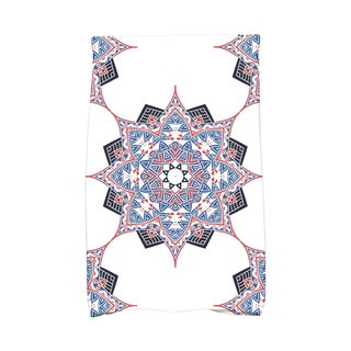 16 x 25-inch Rhapsody Geometric Print Kitchen Towel