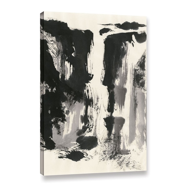 Chris Paschke' s Sumi Waterfall View IV Panel' Gallery Wrapped Canvas