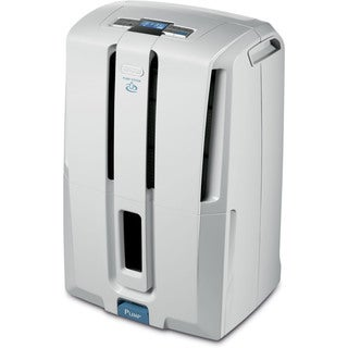 DeLonghi White 50 pt. Dehumidifier with Patented Pump