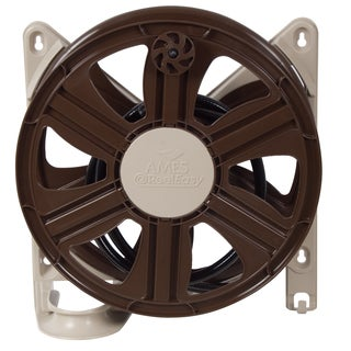 Reel Easy 2388340 100-feet Plastic Side Mount Stationary Hose Reel