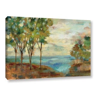 Silvia Vassileva's 'View of the Lake' Gallery Wrapped Canvas