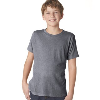 Next Level Boys' Premium Heather Tri-blend Crew T-shirt
