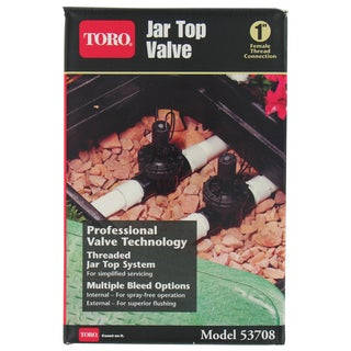 Toro 53708 1-inch In-Line Jar Top Valve