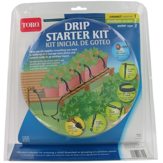 Toro 53724 Blue Stripe Drip Starter Kit
