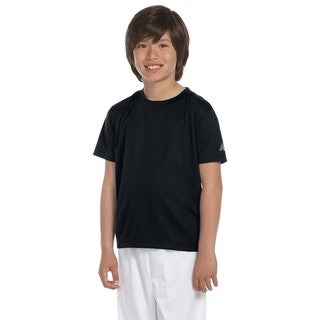 Ndurance Boys' Black Athletic T-Shirt