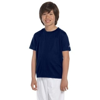 Ndurance Boys Navy Blue Athletic T-shirt