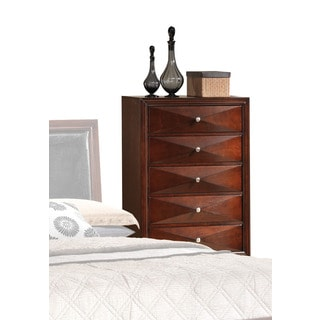 Windsor Merlot 5-Drawer Chest