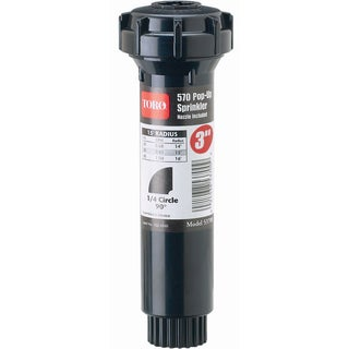 Toro 53815 3-inch 90° 570Z Pro Series Pop-Up Fixed Spray With Nozzle