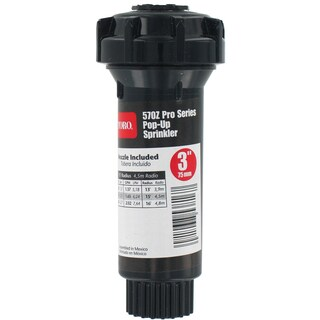 Toro 53816 3-inch 180° 570Z Pro Series Pop-Up Fixed Spray With Nozzle