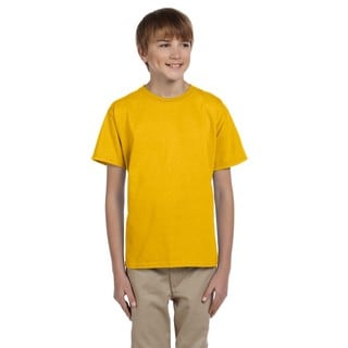 Hidensi-T Boys' Gold T-shirt