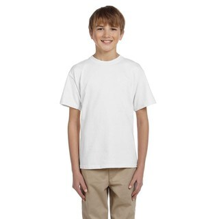 Hidensi-T Boys' White T-Shirt