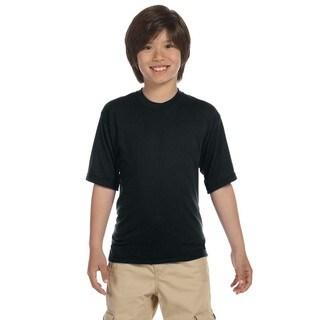 Jerzees Boys Black Sport T-shirt