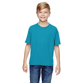 Jerzees Boys' California Cotton Blue Sport T-Shirt