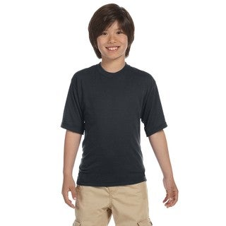 Jerzees Boys' Charcoal Grey Sport T-shirt
