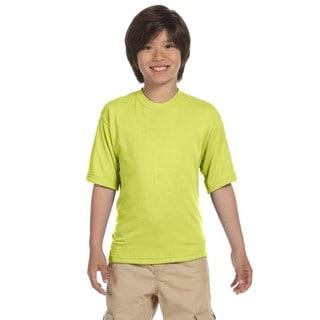 Jerzees Boys' Safety Green Sport T-shirt