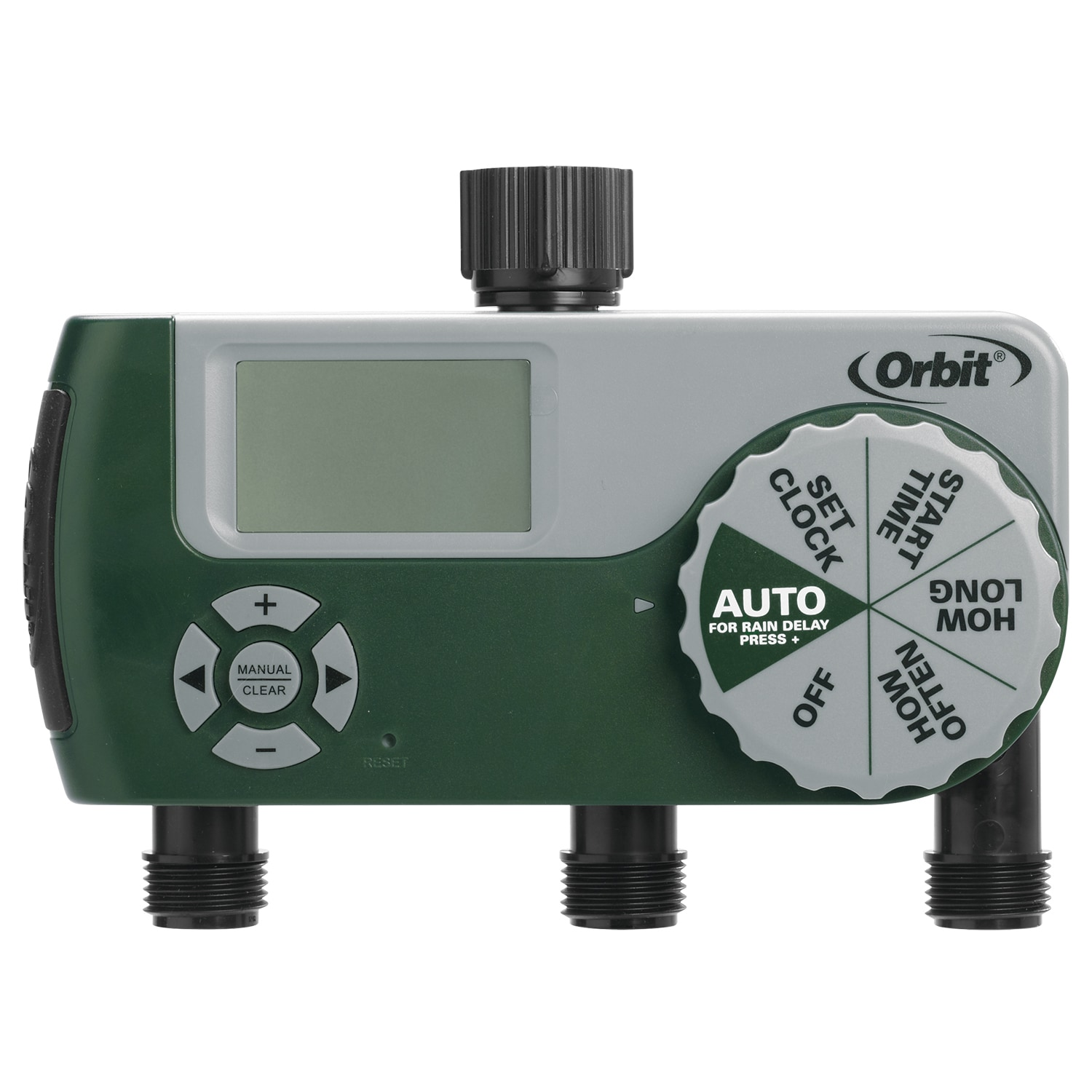 Orbit 56082 3 Outlet Digital Timer (Water Timers), Green