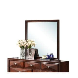 Windsor Merlot Framed Mirror