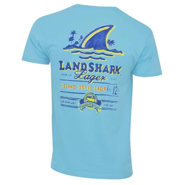 Landshark Mens Light Blue T-shirt