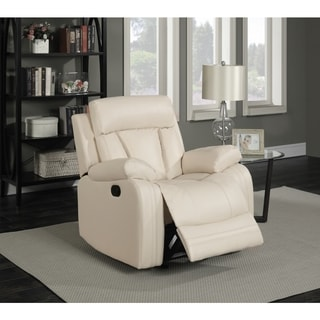 Meridian Avery Beige Leather 3 Piece Living Room Set Part 81