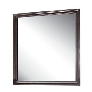 Ajay Espresso Square Mirror