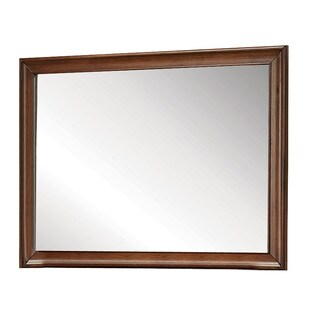Konane Brown Cherry Mirror