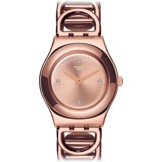 Swatch Women's YLG126G Irony Rose Gold Watch