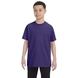 Boys Purple Heavyweight T-shirt