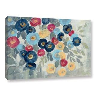 Silvia Vassileva's 'Winter Flowers I' Gallery Wrapped Canvas