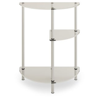 Convenience Concepts Designs2Go 3-tier Glass Entryway Table